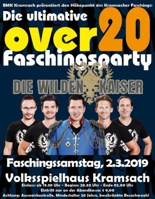 Over20 Faschingsparty - Gemeinde Kramsach - Startseite